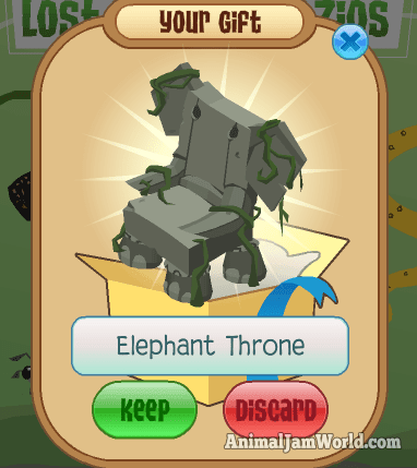 elephantthrone