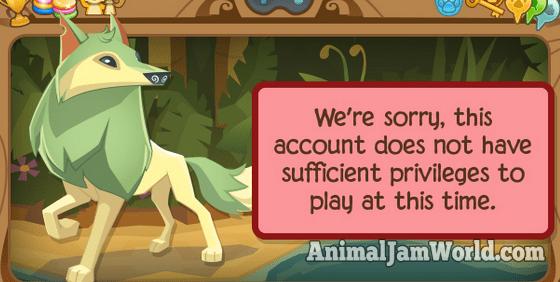 how to create an animal jam account
