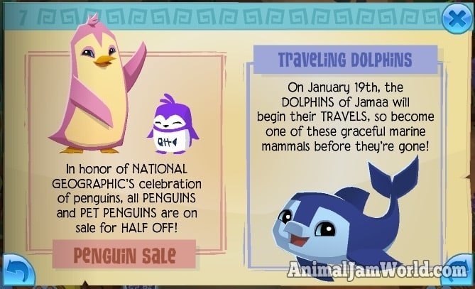 animal-jam-penguin-sale-dolphins