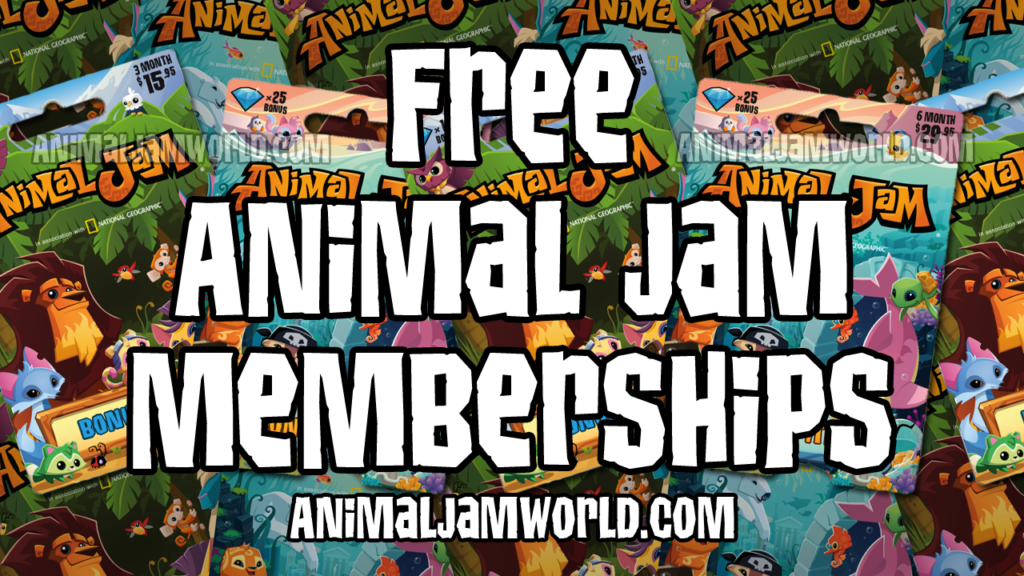 Giveaways animal jam 2018 working