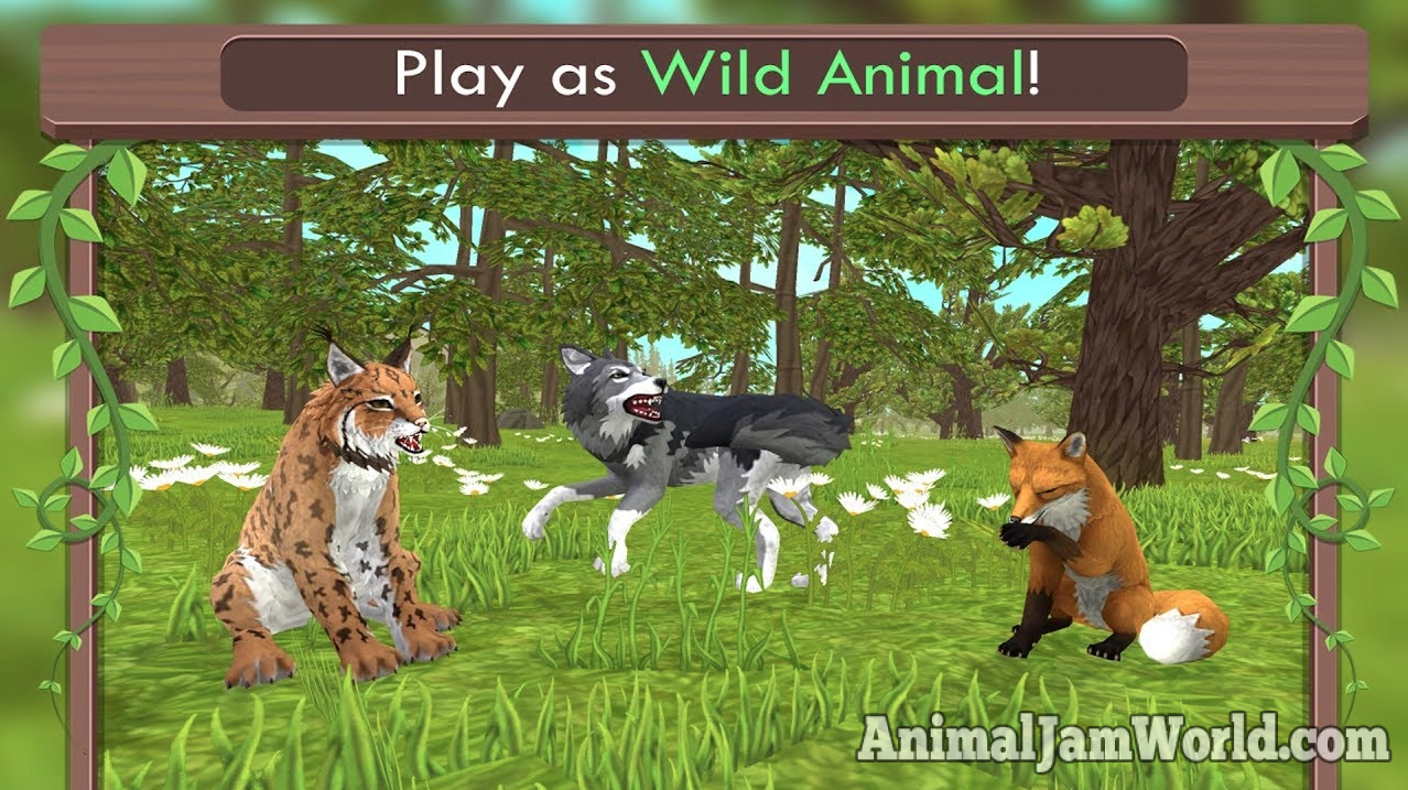 animal games wildcraft game 3d sim ios android