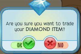 Diamond Item Notice