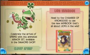 Lion Mini-book