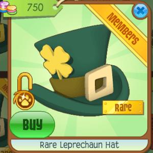 Rare Leprechaun Hat