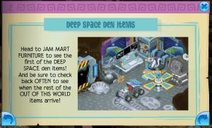 Space Den Items
