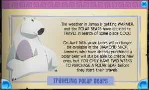 Travelling Polar Bears