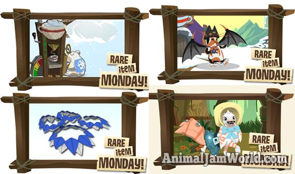 animal-jam-rare-item-monday