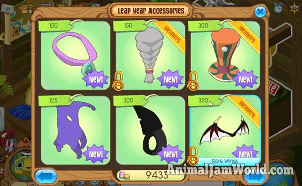 animal-jam-rare-leap-year-items