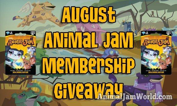 august-animal-jam-membership-giveaway