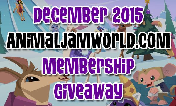 animal-jam-free-membership-giveaway-december-2015