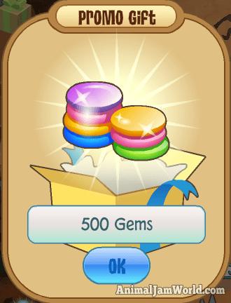 animal-jam-code-december-500-gems