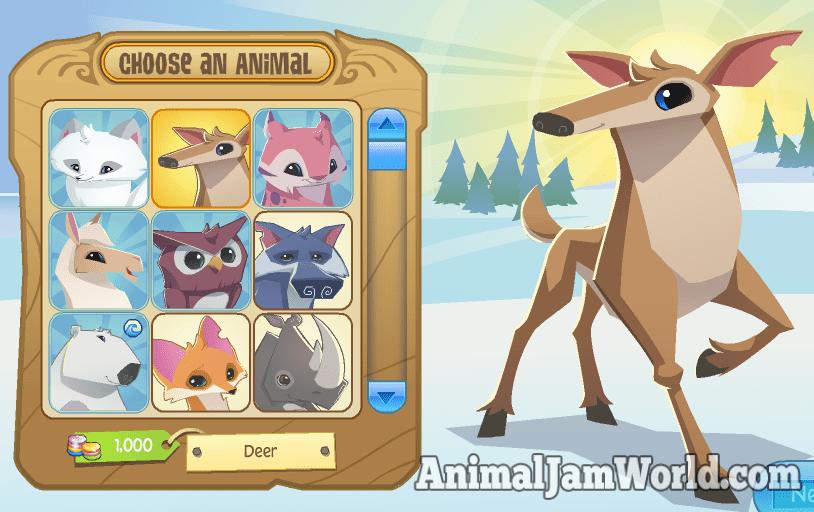 Image of: Deviantart Animaljamdeercodes1 Animal Jam World Animal Jam Deer Codes Animal Jam World