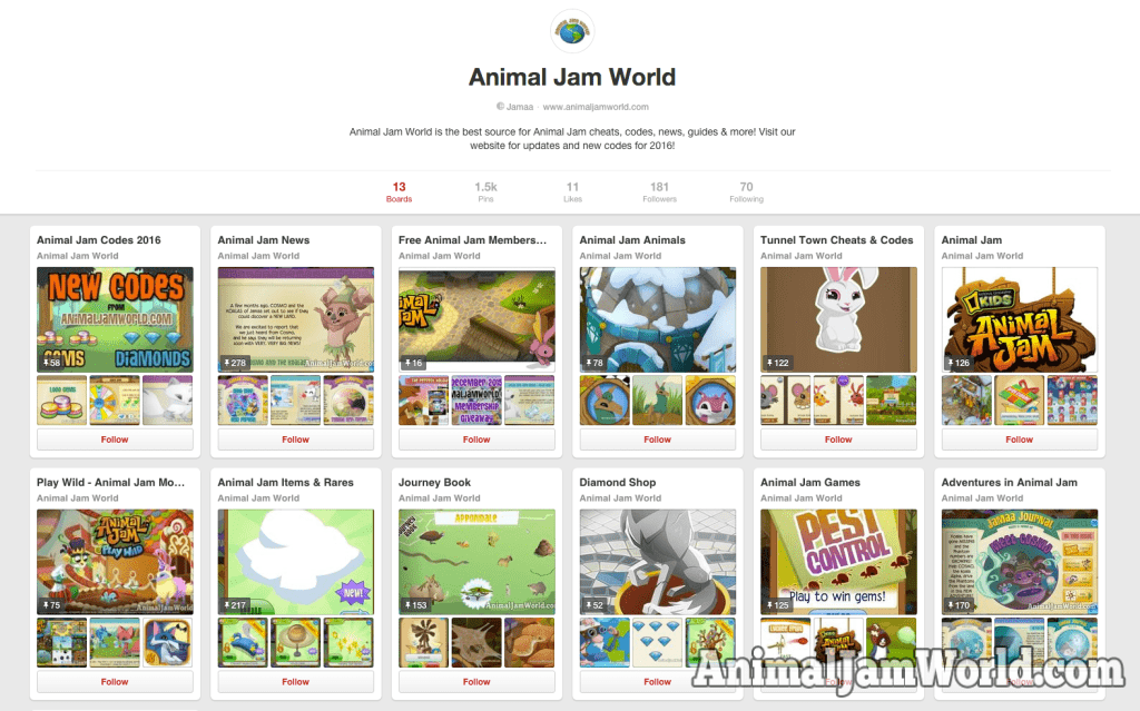 animal-jam-world-pinterest