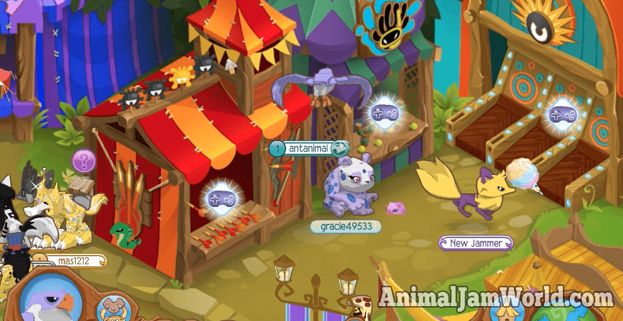 animal-jam-summer-carnival-2016-games