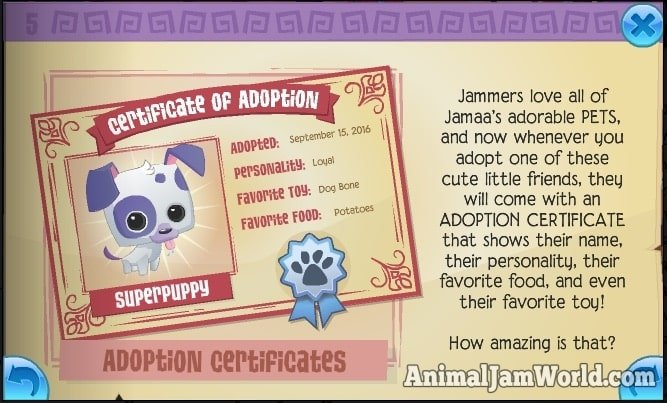 animal-jam-adoption-certificates