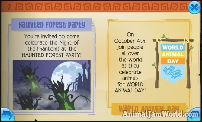 animal-jam-haunted-forest-party