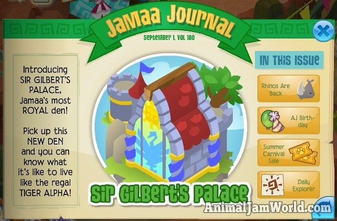 animal-jam-sir-gilberts-palace