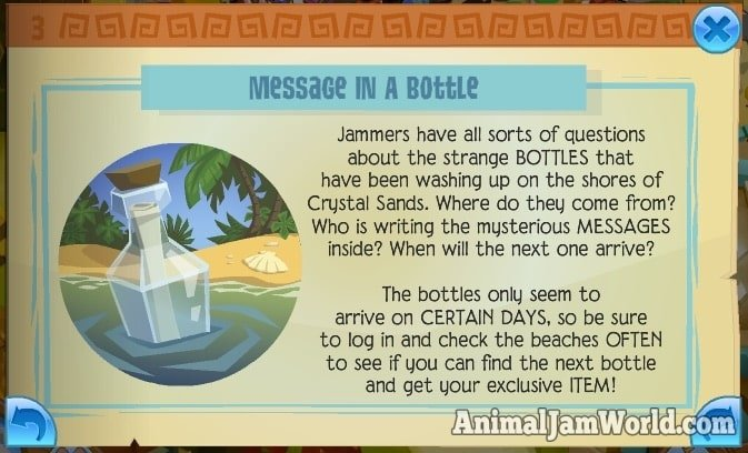 animal-jam-bottle-messages