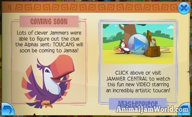 animal-jam-toucans-coming-soon