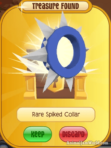 Animal Jam Rare Spikes How To Get A Spike Collar Or Wristband