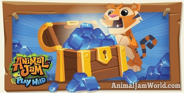 How to Get Free Sapphires in Play Wild - Animal Jam World