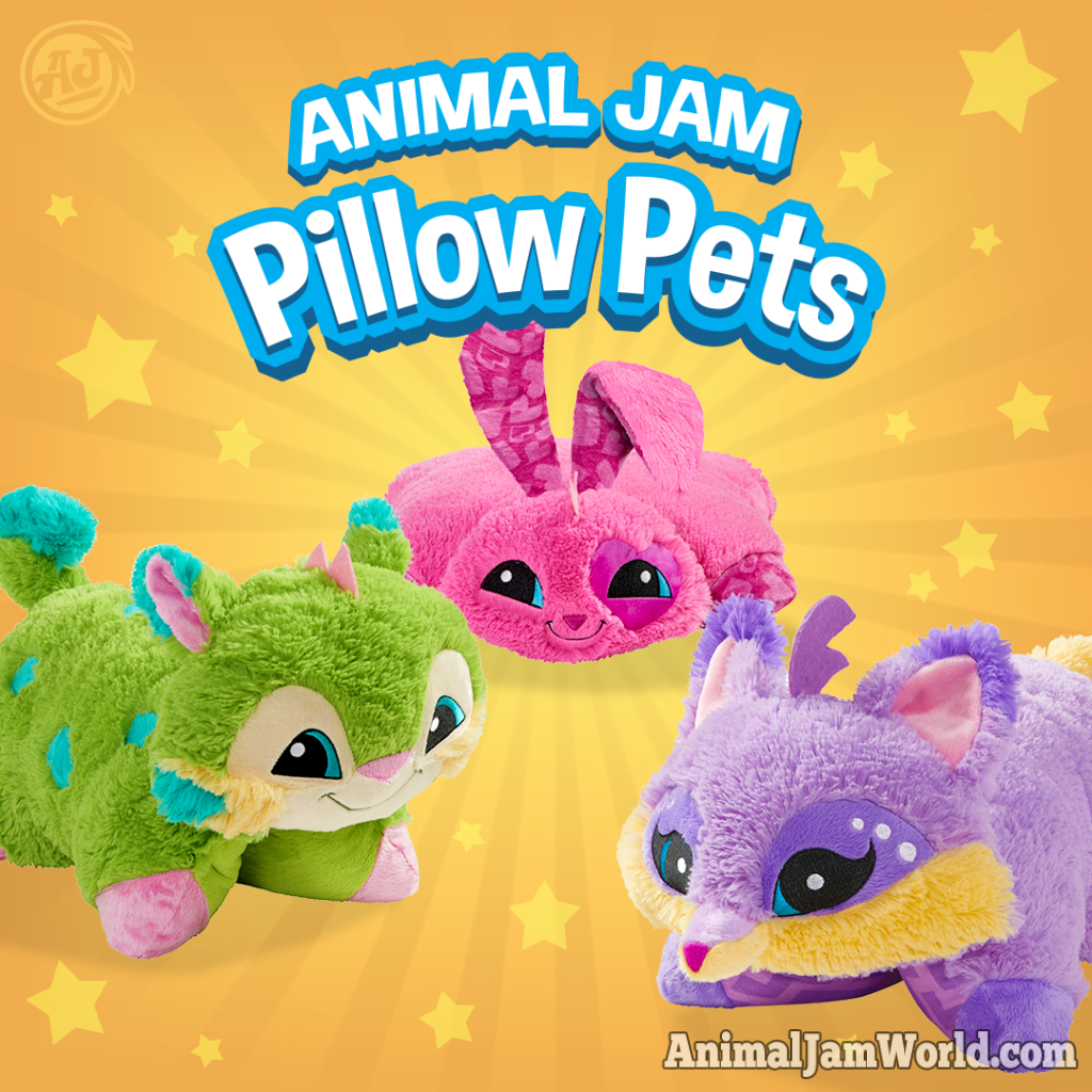 Animal Jam Pillow Pets Where To Buy Them