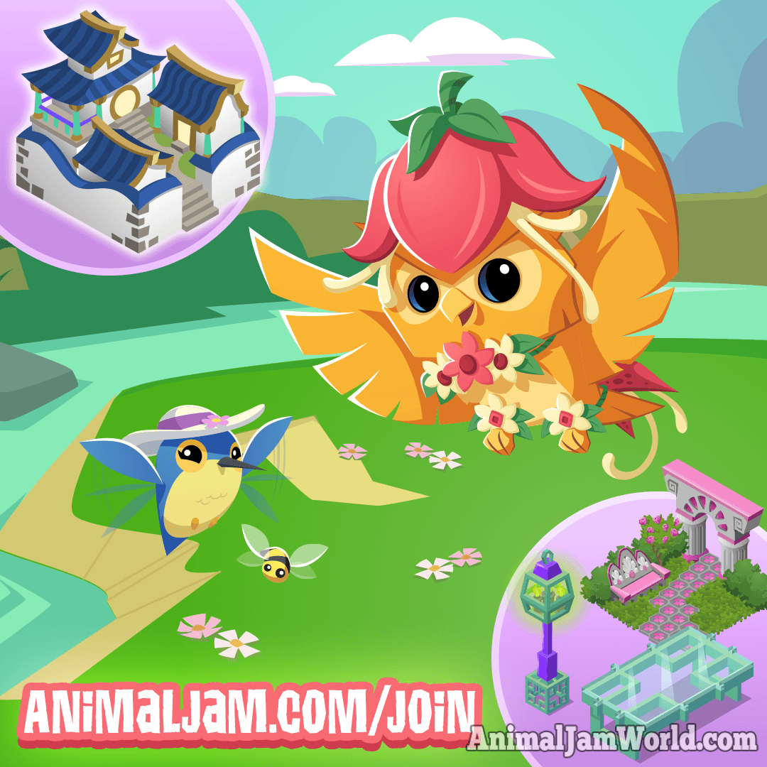 Animal Jam Garden Escape Bundle! - Animal Jam World