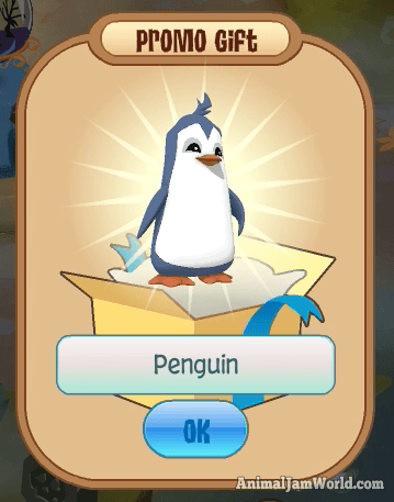 NEW Penguin Code for Animal Jam & Play Wild - Free Pet & Den