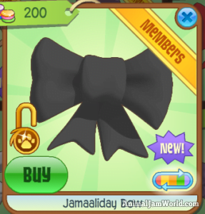 how to get a white sequin bow on animal jam