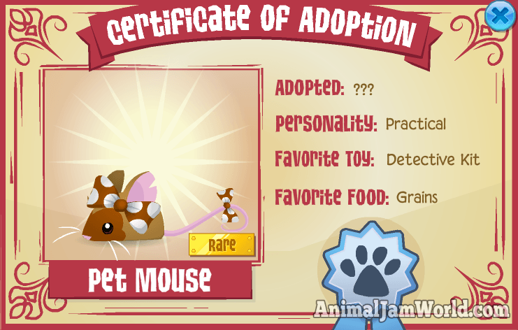 Animal Jam Pet Mouse - How to Get Codes!
