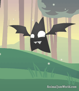 Pet bat night of the phantoms pet animal jam world - How to get a bat on animal jam ...