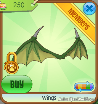 Rare wings in animal jam how to get all types of rare wings - How to get a bat on animal jam ...