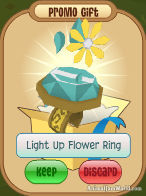 Animal Jam Light Up Rings How To Get Codes