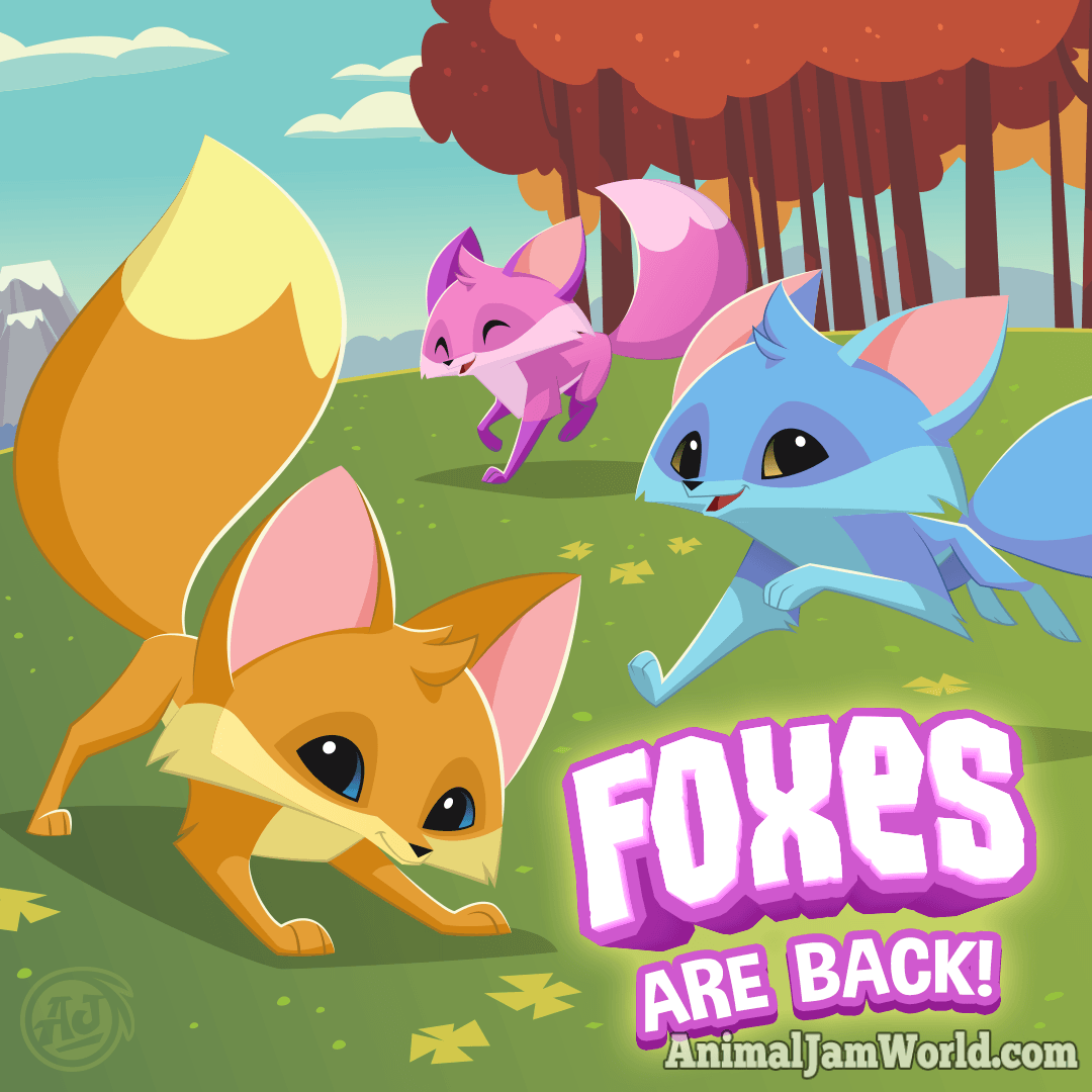 Play Wild Foxes - How to Get a Fox! - Animal Jam World