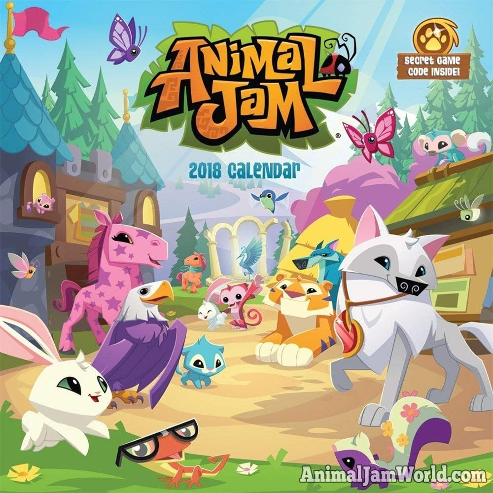 Animal Jam Calendars For 2019 Where To Buy Game Codes
