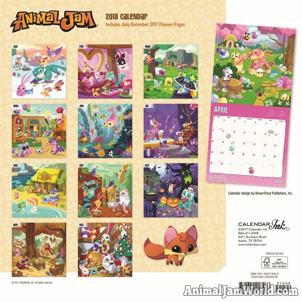 Animal Jam Codes List animal jam calendars for 2019 - where to buy & game codes