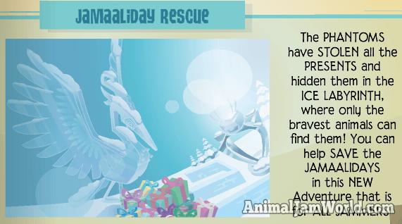 Jamaaliday Rescue Adventure Tips Guide - Animal Jam World