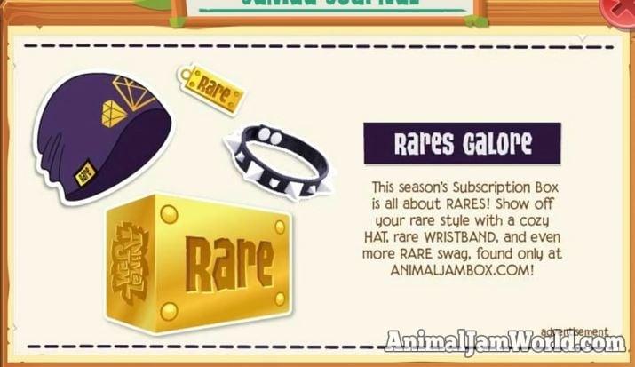 Rare AJ Box Winter 2018 - What's Inside?! - Animal Jam World