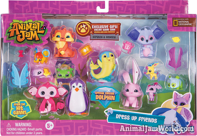 Animal Jam Multipack Toys Promo Codes Where To Buy Them