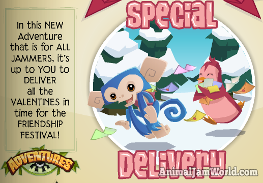 Special Delivery Adventure Guide For Animal Jam Cheats Tips