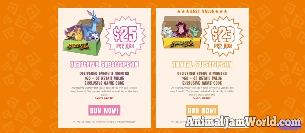 Animal Jam Spring Doodle Box 2019 - Drawing Items & Promo Gift