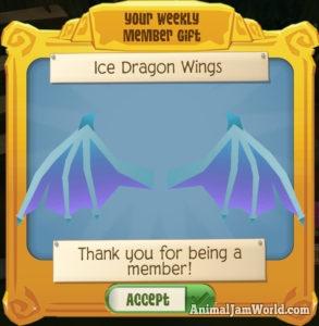 Ice Dragon Wings in Play Wild - Rare AJPW Item Worth & Trading